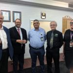 Governor in group photo with community representatives at Carnarvon civic reception