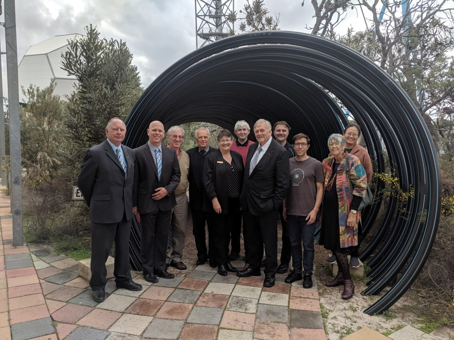 The Governor with Shire of Gingin President, Councillors and CEO
