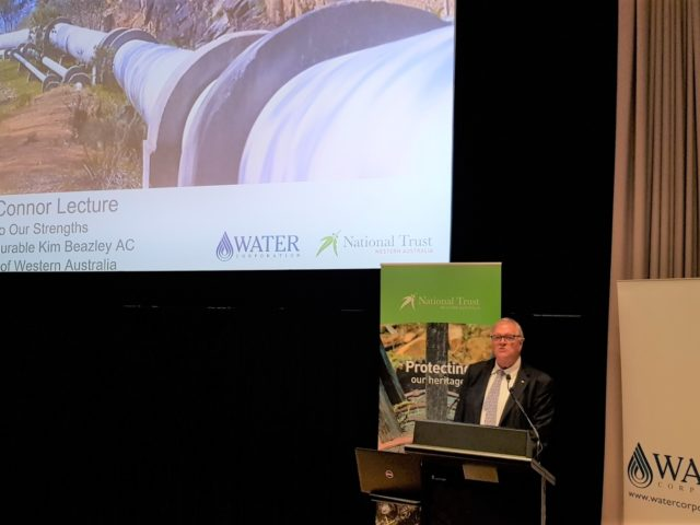 10th March 2020^National Trust WA – CY O'Connor Lecture