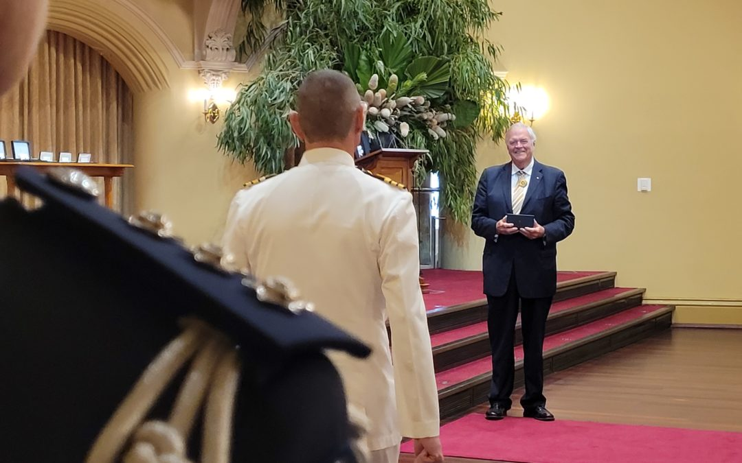 Australia Day Honours Investitures continue at Government House
