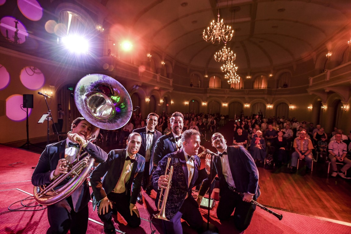 'Disney Jazz' wowed all ages during their weekend shows in the Government House Ballroom. Credit - Maree Laffan